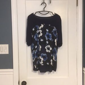 Plus Size Lord & Taylor Short Sleeved Blouse